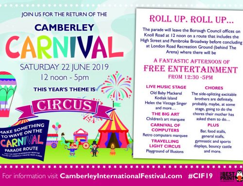 Camberley Carnival in Camberley on 22/06/19